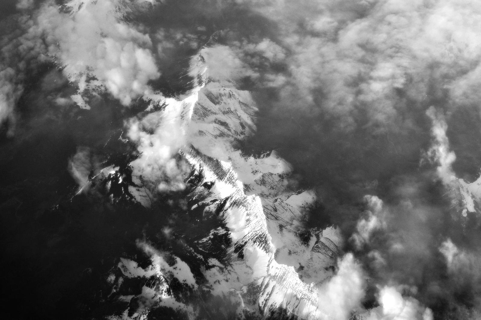 Quelques part, entre ciel et montagne
