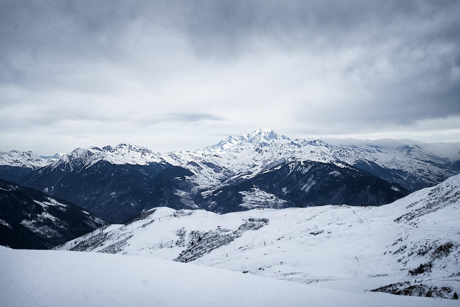 Mont-Blanc, Alpes, 2017