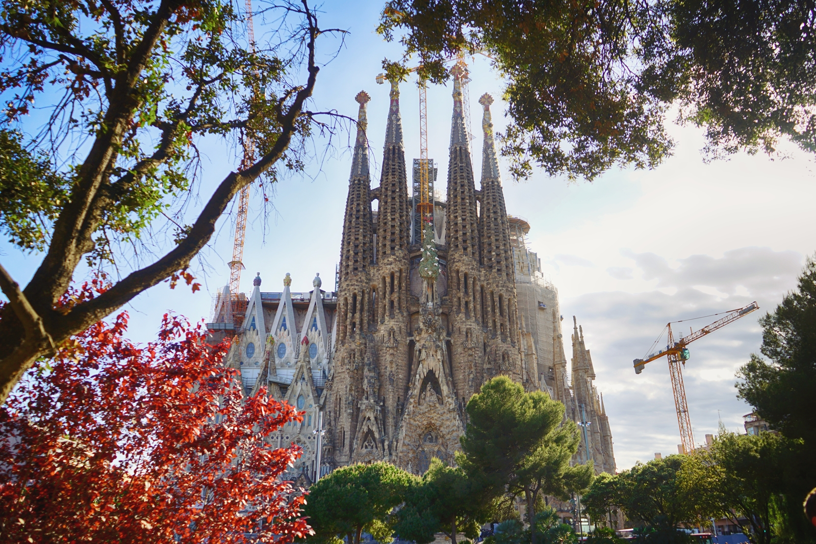 Sagrada Familia, Barcelone, Espagne, 2017